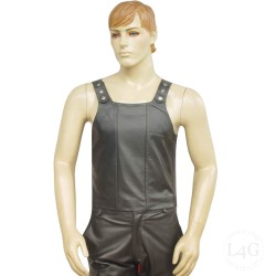 Leather Vest With...