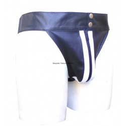 Leather Jockstrap with...