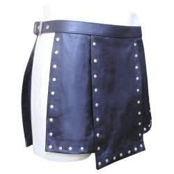 Leather Kilt Gladiator Style