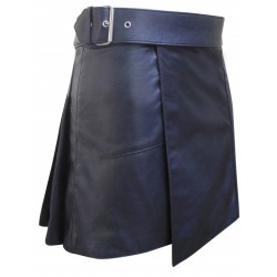 Leather Gladiator Kilt With Stud Work Custom Made Order