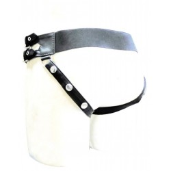 Leather Jockstrap With Both Side Buckle (Custom Made to Order)