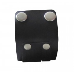 Leather Wristband With D-Ring