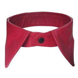 Red Leather Collar For Men