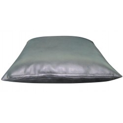 "1 Faux / Imitative Leather Cushion Covers Zipped 22"" 24"""