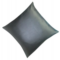 "4 Faux / Imitative Leather Cushion Covers Zipped 18"" 20"""