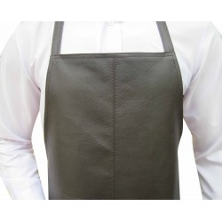 Leather Apron With Pocket