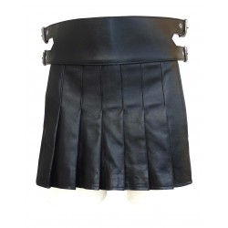 Leather Kilt Gladiator Style (Custom Made to Order)