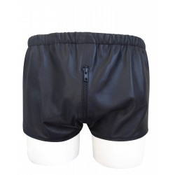 Sexy Leather Chaps Shorts