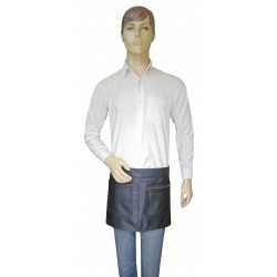 Leather Apron Quarter Length With Two Pockets