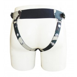 Camouflage Jockstrap With Pouch and both Side Buckles (Custom Made to Order)
