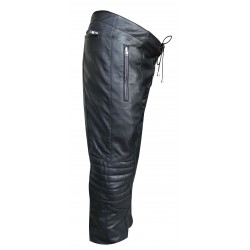 Leather Trouser with Front lace (Custom Made to Order) Plus sizes welcome
