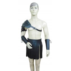 Leather Gladiator Outfit Set Custom Made To Order