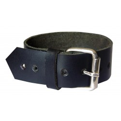 Leather Wristband With Studs Custom Made To Order