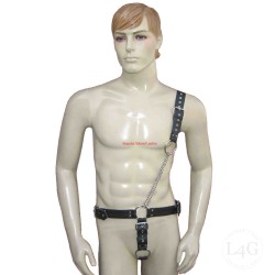 Leather Adjustable Body Harness