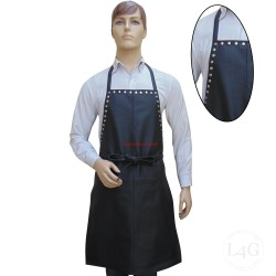 Leather Apron With Stud Work